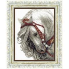 Cross Stitch Kit Ash (horse) art. BT-083