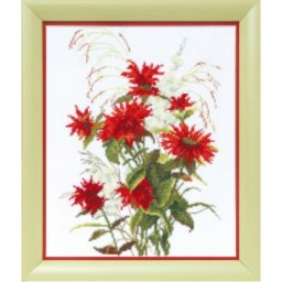 Cross Stitch Kit Red rue BT-517