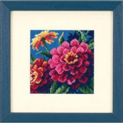 Needlepoint Kit Zinnias art. 7213