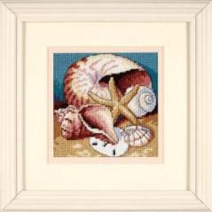 Needlepoint Kit Shell Collage art. 7219