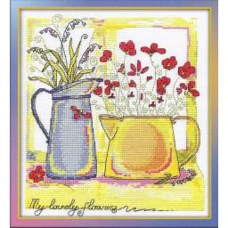 Cross Stitch Kit Morning Watercolours C-0824