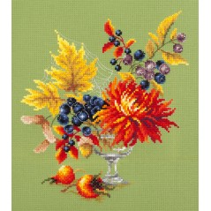 Cross Stitch Kit Autumn bouquet art. 100-005
