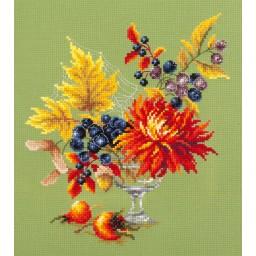 Cross Stitch Kit Autumn bouquet art. 100-005