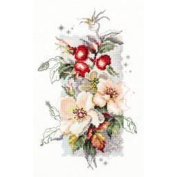 Cross Stitch Kit Rose canina art. 100-102
