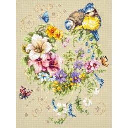 Cross Stitch Kit Melody of your heart art. 100-142