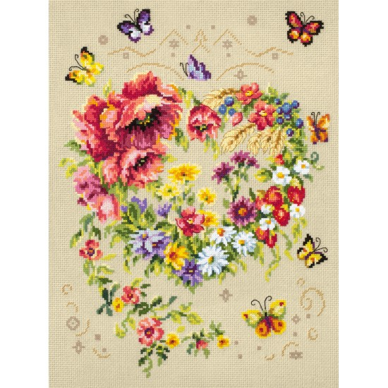 Cross Stitch Kit Shine of your heart art. 100-144