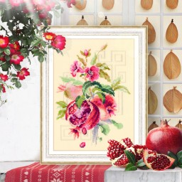 Cross Stitch Kit Pomegranate art. 100-212