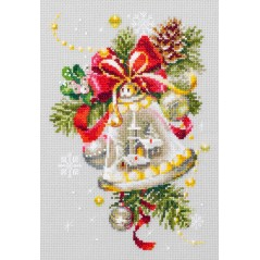 Cross Stitch Kit Christmas Bell art. 100-232