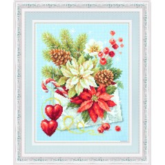 Cross Stitch Kit Merry Christmas art. 100-241