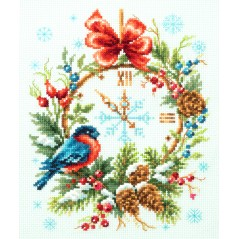 Cross Stitch Kit Christmas Time art. 100-243