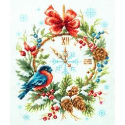 Cross Stitch Kit Christmas Time art. 100-243