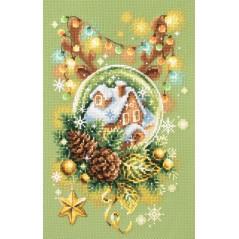 Cross Stitch Kit Light Christmas art. 100-245