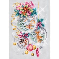 Cross Stitch Kit A Christmas fairy tale art. 100-247