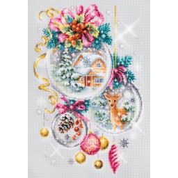 Cross Stitch Kit A Christmas fairy tale art. 100-247