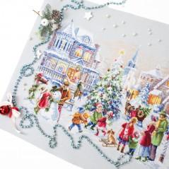 Cross Stitch Kit Christmas Eve art. 100-250