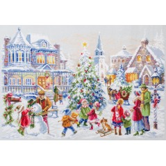 Cross Stitch Kit Christmas Eve art. 100-250
