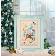 Cross Stitch Kit Christmas treats art. 100-260