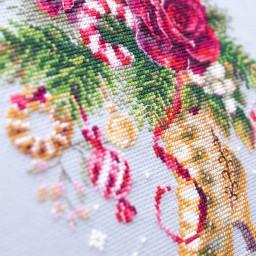 Cross Stitch Kit Christmas surprise art. 100-270