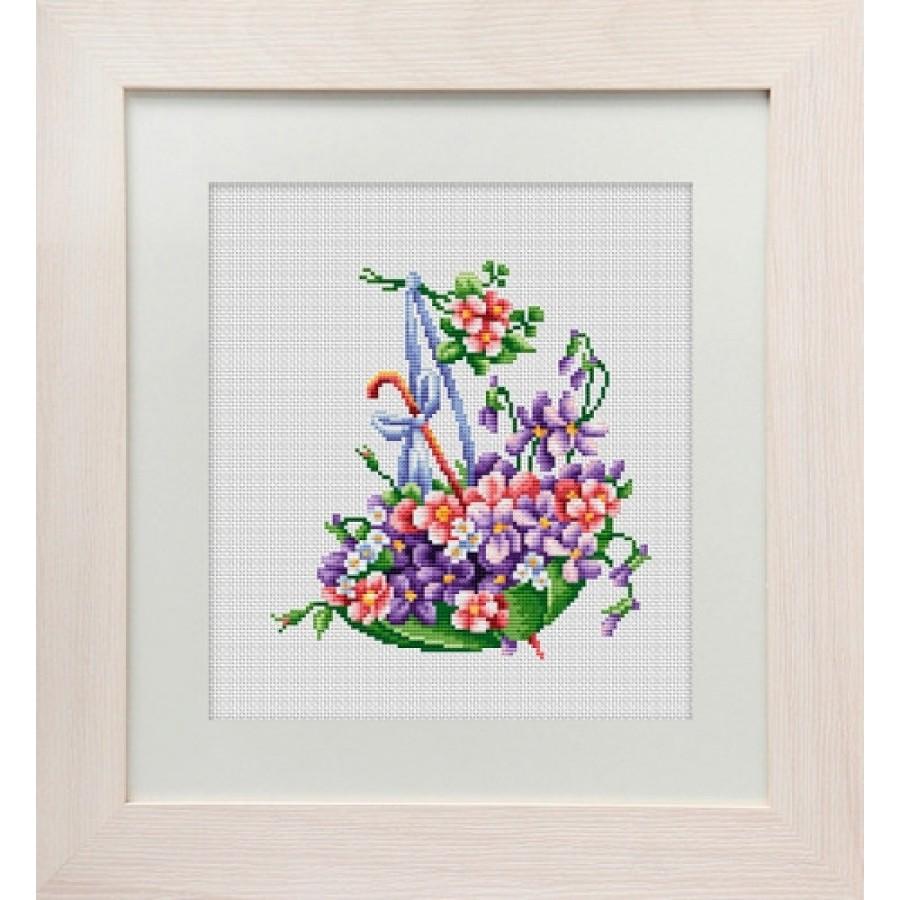 83-02 Cross Stitch kit Lady Sharm art