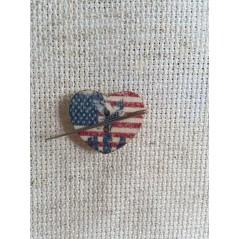Needle Minder American Flag