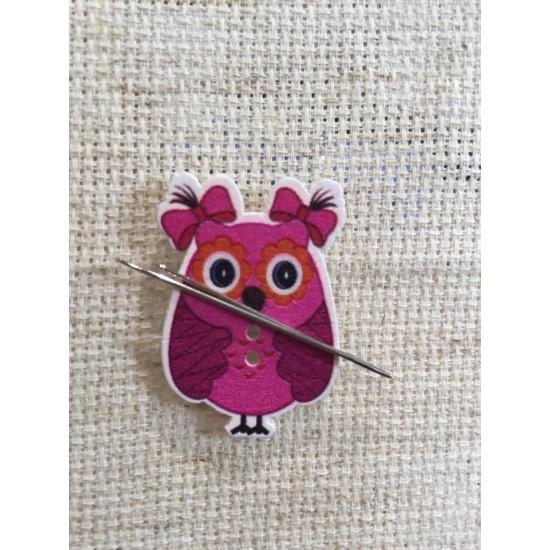 Needle Minder Owl 2
