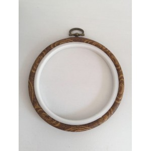 Round Frame Embroidery Hoop Ring Circle Round Loop For Cross Stitch Machine Hand Needle-craft DIY Sewing Tools Dia 13 cm