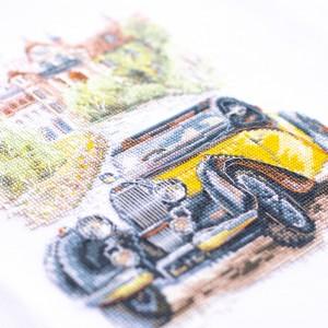 Cross Stitch Kit Retro Style. France art. 110-023
