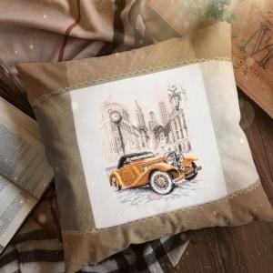 Cross Stitch Kit Retro style. New York art. 110-026