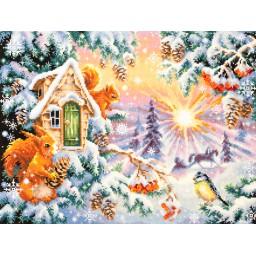 Cross Stitch Kit Winter morning art. 110-700