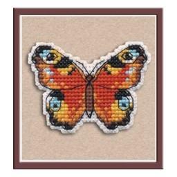 Cross Stitch Kit BADGE-PEACOCK EYE art. 1171 Pre-order