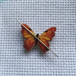 Needle Minder Butterfly 7