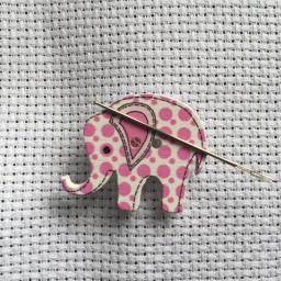 Needle Minder Elephant 1