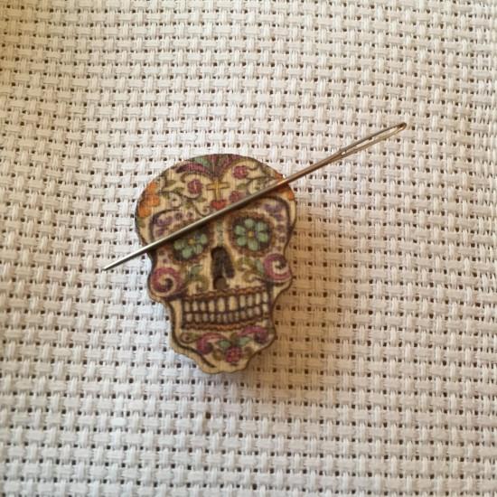 Needle Minder Skull 2