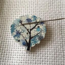 Needle Minder Winter Tree