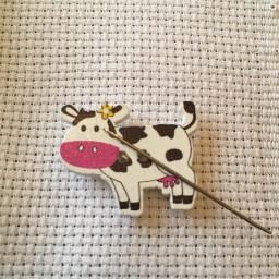 Needle Minder Cow 2
