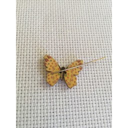 Needle Minder Yellow butterfly