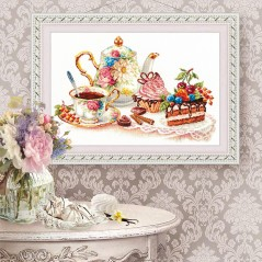 Cross Stitch Kit Cakes art. 120-001