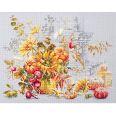 Cross Stitch Kit Autumn Improvisation art. 120-012