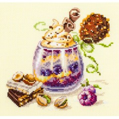 Cross Stitch Kit Chocolate dessert art. 120-080