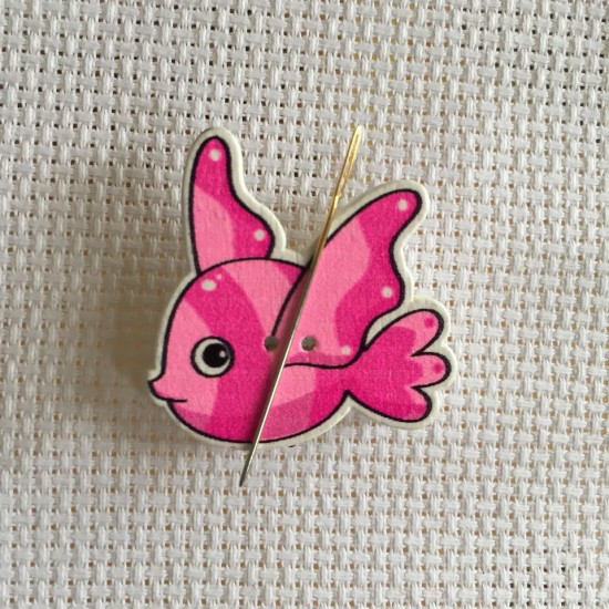Needle Minder Pink fish