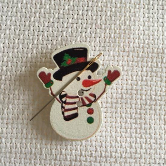 Needle Minder Snowman