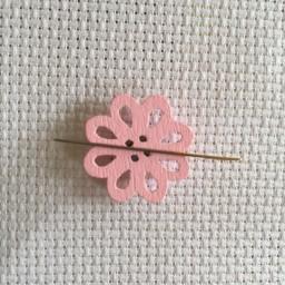 Needle Minder Pink Flower