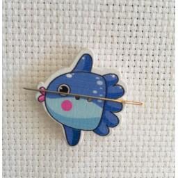 Needle Minder Blue Fish