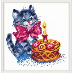 Cross Stitch Kit Birthday art. 13-08