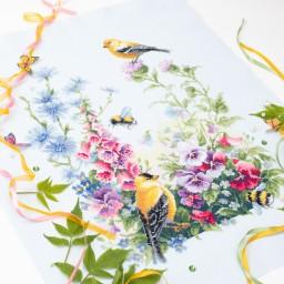 Cross Stitch Kit Summer Song art. 130-031