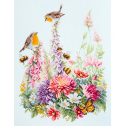Cross Stitch Kit Singing Robins art. 130-032