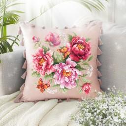 Cross Stitch Kit Flower Magic. Peonies art. 140-001