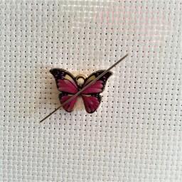 Needle Minder Beautiful Butterfly 2