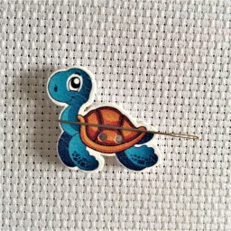 Needle Minder Happy Turtle