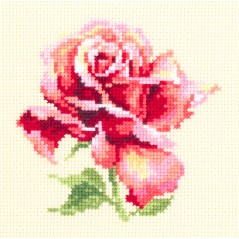 Cross Stitch Kit Beautiful Rose art. 150-001